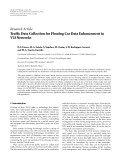 "Báo cáo hóa học: ""  Research Article Traffic Data Collection for Floating Car Data Enhancement in V2I Networks"""