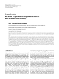 "Báo cáo hóa học: ""  Research Article An MCMC Algorithm for Target Estimation in Real-Time DNA Microarrays Haris Vikalo and Mahsuni Gokdemir"""