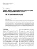 """Báo cáo hóa học: """" Research Article Adaptive Parameter Identification Based on Morlet Wavelet and Application in Gearbox Fault Feature Detection"""""""