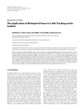 "Báo cáo hóa học: ""  Research Article The Application of Bioinspired Sonar to Cable Tracking on the Seafloor"""