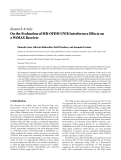 "Báo cáo hóa học: ""  Research Article On the Evaluation of MB-OFDM UWB Interference Effects on a WiMAX Receiver"""