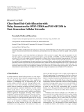 "Báo cáo hóa học: "" Research Article Class-Based Fair Code Allocation with Delay Guarantees for OVSF-CDMA and VSF-OFCDM in Next-Generation Cellular Networks"""