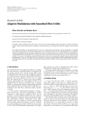 "Báo cáo hóa học: "" Research Article Adaptive Modulation with Smoothed Flow Utility"""