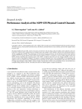 "Báo cáo hóa học: "" Research Article Performance Analysis of the 3GPP-LTE Physical Control Channels"""