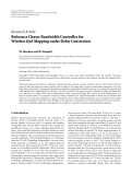 """Báo cáo hóa học: """" Research Article Reference Chaser Bandwidth Controller for Wireless QoS Mapping under Delay Constraints"""""""