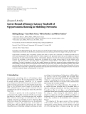 """Báo cáo hóa học: """" Research Article Lower Bound of Energy-Latency Tradeoff of Opportunistic Routing in Multihop Networks"""""""