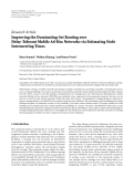 "Báo cáo hóa học: ""  Research Article Improving the Dominating-Set Routing over Delay-Tolerant Mobile Ad-Hoc Networks via Estimating Node Intermeeting Times"""