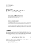 """Báo cáo hóa học: """"  Research Article Fixed Points and Stability in Nonlinear Equations with Variable Delays"""""""