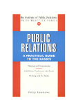 Public relations a practical guide to the basics_1