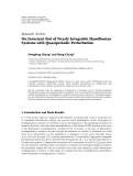 "báo cáo hóa học:""  Research Article On Invariant Tori of Nearly Integrable Hamiltonian Systems with Quasiperiodic Perturbation"""