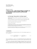 "báo cáo hóa học:""  Research Article A Study on the p-Adic Integral Representation on Zp Associated with Bernstein and Bernoulli Polynomials"""