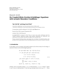 "báo cáo hóa học:"" Research Article ¨ On Coupled Klein-Gordon-Schrodinger Equations with Acoustic Boundary Conditions"""