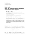 """báo cáo hóa học:""""  Research Article On the Time Periodic Free Boundary Associated to Some Nonlinear Parabolic Equations"""""""