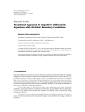 "báo cáo hóa học:"" Research Article Variational Approach to Impulsive Differential Equations with Dirichlet Boundary Conditions"""
