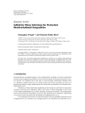"báo cáo hóa học:"" Research Article Infinitely Many Solutions for Perturbed Hemivariational Inequalities"""
