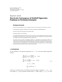 "báo cáo hóa học:"" Research Article Two-Scale Convergence of Stekloff Eigenvalue Problems in Perforated Domains"""
