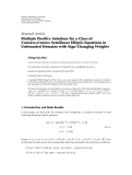 "báo cáo hóa học:"" Research Article Multiple Positive Solutions for a Class of Concave-Convex Semilinear Elliptic Equations in Unbounded Domains with Sign-Changing Weights"""