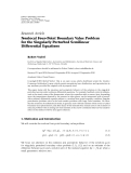 "báo cáo hóa học:"" Research Article Nonlocal Four-Point Boundary Value Problem for the Singularly Perturbed Semilinear """