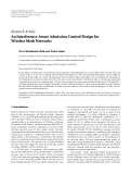 "Báo cáo hóa học: "" Research Article An Interference-Aware Admission Control Design for Wireless Mesh Networks"""
