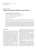 """Báo cáo hóa học: """" Research Article Ambient Data Collection with Wireless Sensor Networks"""
