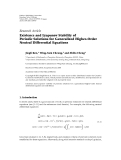 "Báo cáo sinh học: "" Research Article Existence and Lyapunov Stability of Periodic Solutions for Generalized Higher-Order Neutral Differential Equations"""