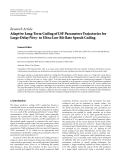 "Báo cáo sinh học: "" Research Article Adaptive Long-Term Coding of LSF Parameters Trajectories for Large-Delay/Very- to Ultra-Low Bit-Rate Speech Coding"""
