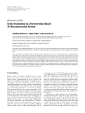 "Báo cáo sinh học: ""  Research Article Error Evaluation in a Stereovision-Based 3D Reconstruction System"""