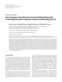 """Báo cáo sinh học: """"  Research Article Time-Frequency Data Reduction for Event Related Potentials: Combining Principal Component Analysis and Matching Pursuit"""""""