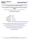 "báo cáo hóa học:"" On the boundedness of the solutions in nonlinear discrete Volterra difference equations"""