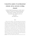 "báo cáo hóa học:""   Connectivity analysis of one-dimensional vehicular ad hoc networks in fading channels"""