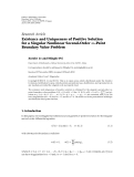 "báo cáo hóa học:""  Research Article Existence and Uniqueness of Positive Solution for a Singular Nonlinear Second-Order m-Point Boundary Value Problem"""