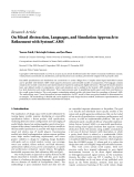 "báo cáo hóa học:""  Research Article On Mixed Abstraction, Languages, and Simulation Approach to Refinement with SystemC AMS"""