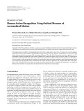 """báo cáo hóa học:""""  Research Article Human Action Recognition Using Ordinal Measure of Accumulated Motion"""""""