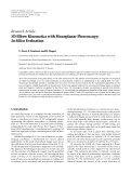 "Báo cáo hóa học: ""Research Article 3D Elbow Kinematics with Monoplanar Fluoroscopy: In Silico Evaluation"""
