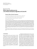 "báo cáo hóa học:""   Research Article FPSoC-Based Architecture for a Fast Motion Estimation Algorithm in H.264/AVC"""