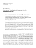 "báo cáo hóa học:""  Research Article Modeling and Visualization of Human Activities for Multicamera Networks"""