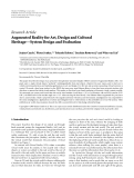 """báo cáo hóa học:""""   Research Article Augmented Reality for Art, Design and Cultural Heritage—System Design and Evaluation"""""""