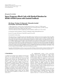 "báo cáo hóa học:""   Research Article Space-Frequency Block Code with Matched Rotation for MIMO-OFDM System with Limited Feedback"""