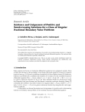 "Báo cáo hóa học: "" Research Article Existence and Uniqueness of Positive and Nondecreasing Solutions for a Class of Singular Fractional Boundary Value Problems"""