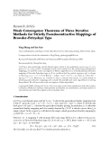 """Báo cáo hóa học: """" Research Article Weak Convergence Theorems of Three Iterative Methods for Strictly Pseudocontractive"""""""