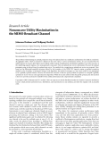 """Báo cáo hóa học: """"  Research Article Nonconcave Utility Maximisation in the MIMO Broadcast Channel"""""""