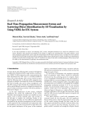 """Báo cáo hóa học: """"Research Article Real-Time Propagation Measurement System and Scattering Object Identification by 3D Visualization by Using VRML for ETC System"""""""