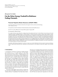 """Báo cáo hóa học: """" Research Article On the Delay-Energy Tradeoff in Multiuser Fading Channels"""""""