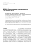"Báo cáo hóa học: ""Research Article Millimeter-Wave Ultra-Wideband Six-Port Receiver Using Cross-Polarized Antennas"""