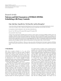 "Báo cáo hóa học: ""Research Article Fairness and QoS Guarantees of WiMAX OFDMA Scheduling with Fuzzy Controls"""