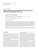 """Báo cáo hóa học: """" Research Article Autocorrelation Properties of OFDM Timing Synchronization Waveforms Employing Pilot Subcarriers"""""""