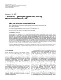 """Báo cáo hóa học: """"Research Article A Secure and Lightweight Approach for Routing Optimization in Mobile IPv6"""""""