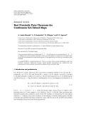"""Báo cáo hóa học: """"  Research Article Best Proximity Pairs Theorems for Continuous Set-Valued Maps"""""""