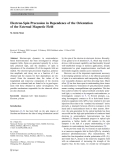 """Báo cáo hóa học: """"   Electron-Spin Precession in Dependence of the Orientation of the External Magnetic Field"""""""