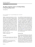 """Báo cáo hóa học: """" The Effect of Interface Texture on Exchange Biasing in Ni80Fe20/Ir20Mn80 Syste"""""""